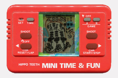 Game&Watch Madrigal:Hippo Teeth:VTech:Sporty Time & Fun:1982: