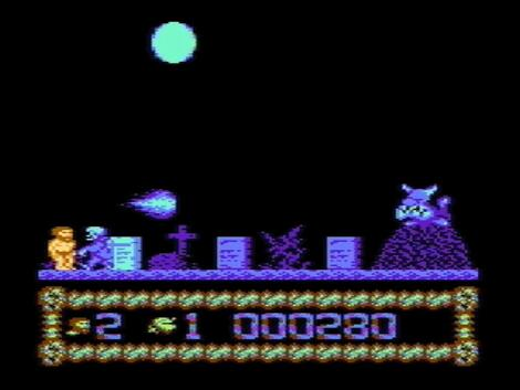 Atari XE/XL:Altirra:Ghastly Night:Brothers Production:1994:
