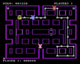 Atari:XE/XL:Altirra:Mouse Attack:On-Line Systems:On-Line Systems:Jan, 1982: