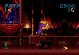 Sega:Genesis:Megadrive:Gens:Disney\'s Beauty and the Beast: Roar of the Beast:Sun Corporation of America:Software Creations Ltd.:1993: