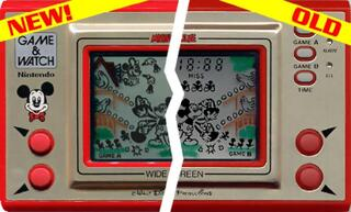 Game&Watch:Madrgial:Snoopy Tennis:Nintendo:1982