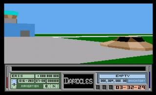 Amiga:WinUAE:Damocles: Mercenary II (a.k.a. Mercenary II: Sword of Damocles):Novagen Software Ltd:Novagen Software Ltd:Mar, 1990: