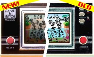 Game&Watch:Madrgial:Turtle Bridge:Nintendo:1982