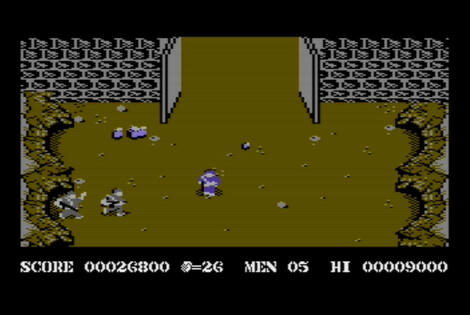 Commodore C64:Cloanto:WinVice:Commando:Data East USA, Inc.:Capcom Co., Ltd.:1985: