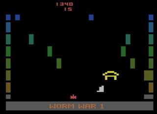 Atari:2600:VCS:Stella:Worm War I:Fox Video Games, Inc.:Sirius Software, Inc.:1982: