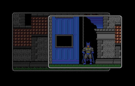 Atari ST Steem:SSE:Batman The Movie:Ocean Software Ltd.:Ocean Software Ltd.:1989: