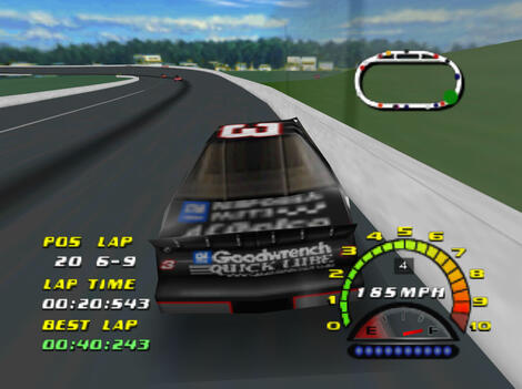 N64 Nintendo 64:Plugins:Project64:RiceVideo:Nascar 2000:Electronic Arts, Inc.:Stormfront Studios:Sep 15, 1999: