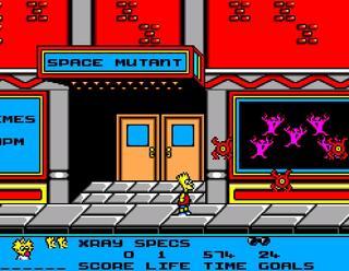 Sega:SMS:Meka:Bart vs. the Space Mutants:SEGA:1986