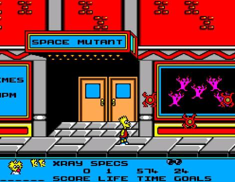 Sega SMS:Meka:Bart vs. the Space Mutants:SEGA:1986