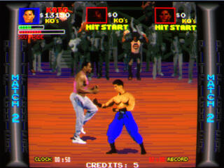 Arcade:Mame:MameUI:x86:0.153:Pit-Fighter:Atari Games:1990: