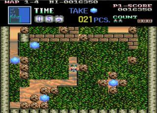 Arcade:Final Burn:Alpha:Schuffle:Boulder Dash:Data East Corporation (licensed from First Star) (1990)