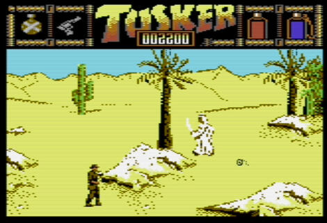 Commodore C64:WinVice:Tusker:System 3 Software Ltd.:System 3 Software Ltd.:1989: