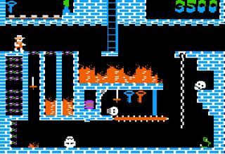 Apple:AppleIIWin:Montezuma's Revenge:BCISoftware:ParkerBrothers:1984: