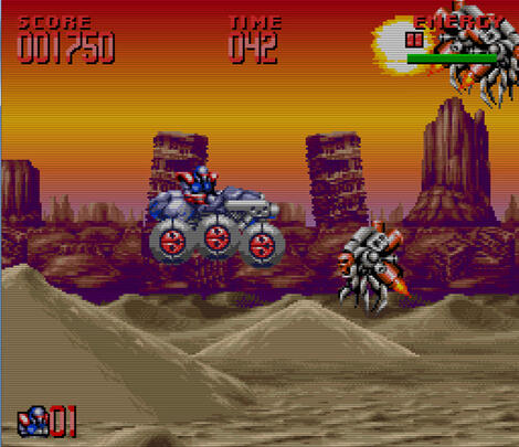 Multi BizHawk:Super:Nintendo:Snes:Super Turrican II:Ocean of America, Inc.:Factor 5 GmbH:Nov, 1995:
