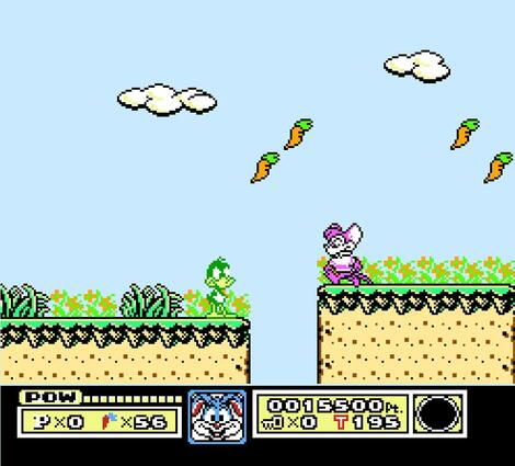 Nintendo 8 Nes:HalfNes:Java:Tiny Toon Adventures:Konami, Inc.:Konami Co., Ltd.:Dec, 1991: