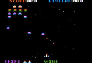 Apple:Apple][:AppleWin:Galaxian:Starcraft:1980: