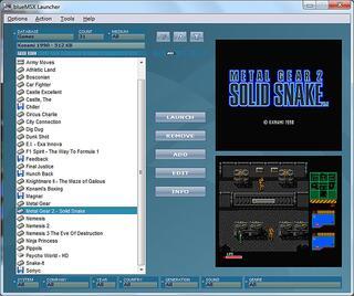 MSX:BlueMSX:Launcher:Frontend