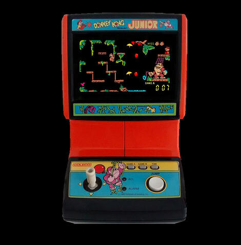 Game&Watch Madrigal:Donkey Kong Jr.:Coleco:1983