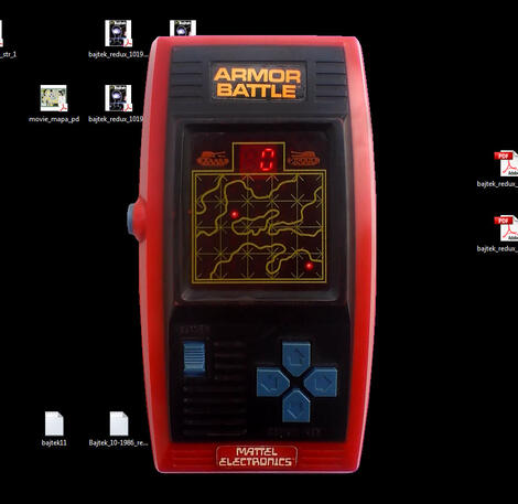 Game&Watch Madrigal:Armour Battle:Mattel Electronics:1978