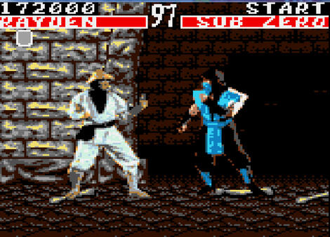 Multi:Pantheon:Sega:Game:Gear:Moral Kombat:Arena Entertainment:Midway Games, Inc.:1993: