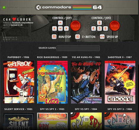 Commodore:C64:C64 Lover:GUI