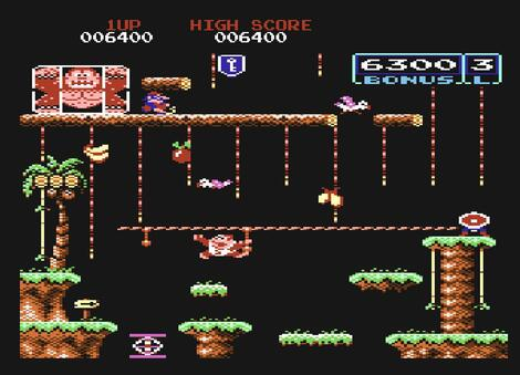 Retro - Donkey Kong Junior (Commodore 64). Mr. SID (HVSC Crew, Megadesigns Incorporated), Music Encore (Undone), STE'86, 2014