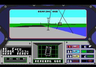 SEGA:Genesis:Megadrive:GENS:ReRecording:Abrams Battle Tank:ElectronicArts,Inc.:Dynamix,Inc.:1989: