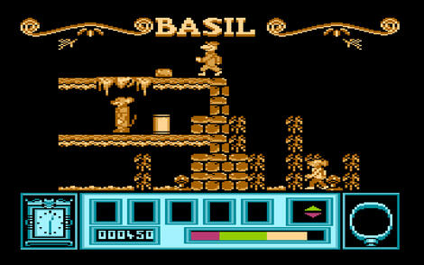 Atari XE/XL:Altirra:Basil the Great Mouse Detective:1987: