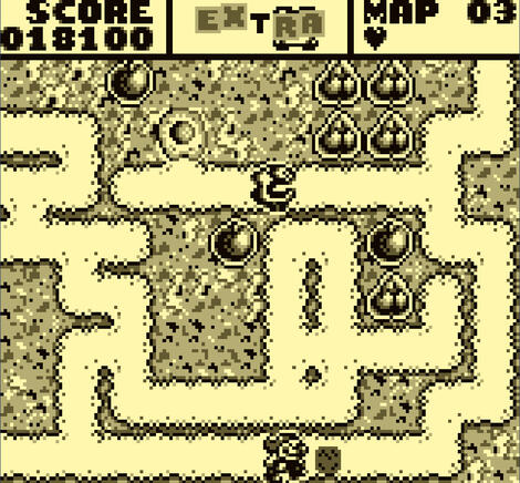 GameBoy Classic:Nintendo:VGB:Mr. Do!:Ocean of America, Inc.:Universal Co., Ltd.:Nov, 1992: