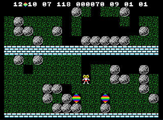 Colecovision:ColEm:Boulder Dash:Micro Fun:First Star Software, Inc.:1984: