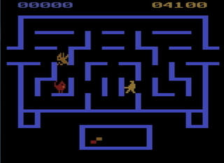 Atari:2600:VCS:Stella:Wizard of the Wor:CBS Electronics:Dave Nutting Associates, Inc.:1982: