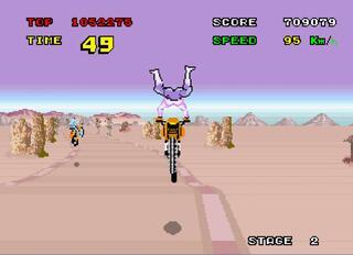 Arcade:Enduro Racer:Sega:1986: