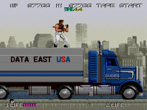 Arcade Mame:MamePlus:ash:Bad Dudes:Data East:1988