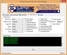 Mame Compiler:GUI:Tools:Arcade