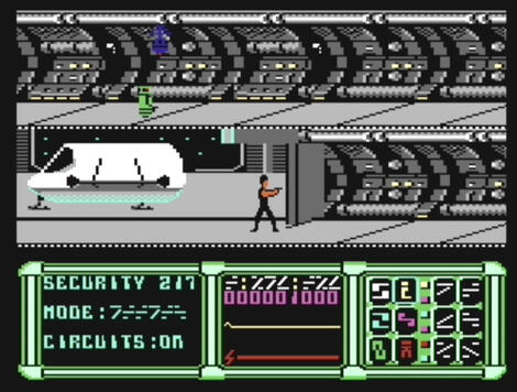 Commodore C64:Vice:V (a.k.a. V: The Computer Game):Ocean Software Ltd.:Kaos:1986: