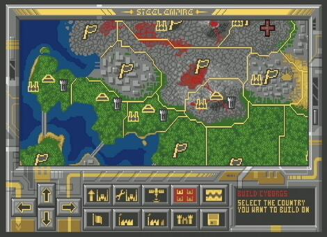 Amiga WinUAE:3.0.2:Steel Empire:Strategic Simulations, Inc.:Silicon Knights, Inc.:1992:
