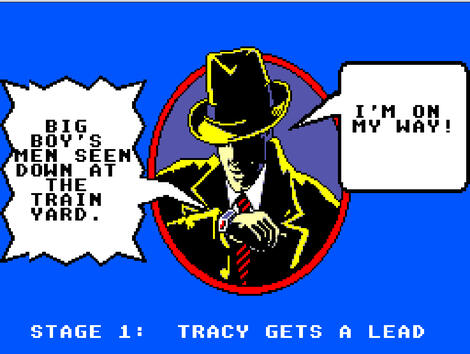 Sega SMS:Emulicious:Dick Tracy:SEGA of America, Inc.:BlueSky Software, Inc.:1990: