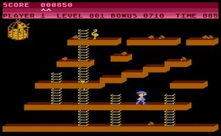 Atari:XE/XL:Altirra:Chuckie Egg:A&F Software Ltd.:A&F Software Ltd.:1985: