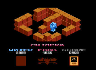 Retro - Chimera + (Atari XE/XL). Tezz (org. FireBird), 2015 (1985)