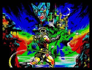 Retro - Castlevania: Spectral Interlude (ZX Spectrum 128). Aleksandr
