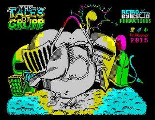 Retro - The Tales Of Grupp (ZX Spectrum). Alxinho (Retrobytes Production), 2015