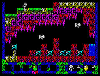 Retro - PentAcorn (ZX Spectrum). Game Desing: José Ignacio Rodríguez (Nightwolf). Graphics: Jarlaxe. Music and Audio: John McKlain:2015