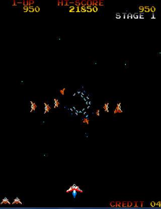 Arcade:Final:Burn:Alpha:Gyrruss:Konami:1983
