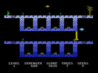 Atari XE:Altirra:Necromancer:Synapse Software:1982