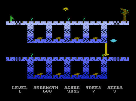Atari XE Altirra:Necromancer:Synapse Software:1982