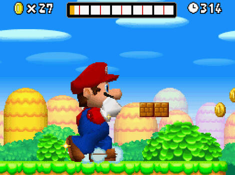 NDS No$gba:New Super Mario Bros