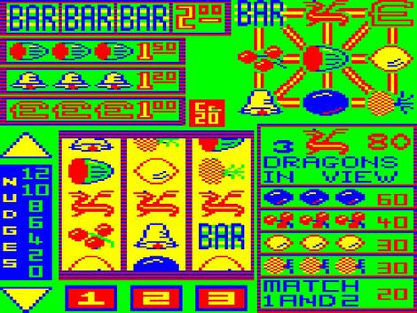 Coleco XRoar:GameBase:Fruity Machine