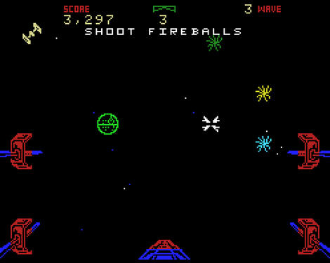Colecovision ColEm:Star Wars:Star Wars - The Arcade Game (1984) (Parker Bros)
