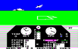 Apple II:Java:Jace:Solo Flight