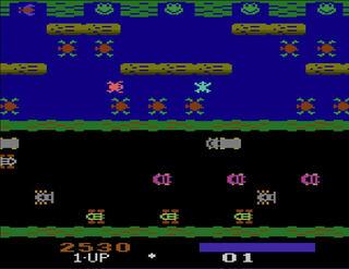 Atari:VCS:2600:Stella:Frogger:StarpathCorporation:KonamiIndustryCo.Ltd.:1983: